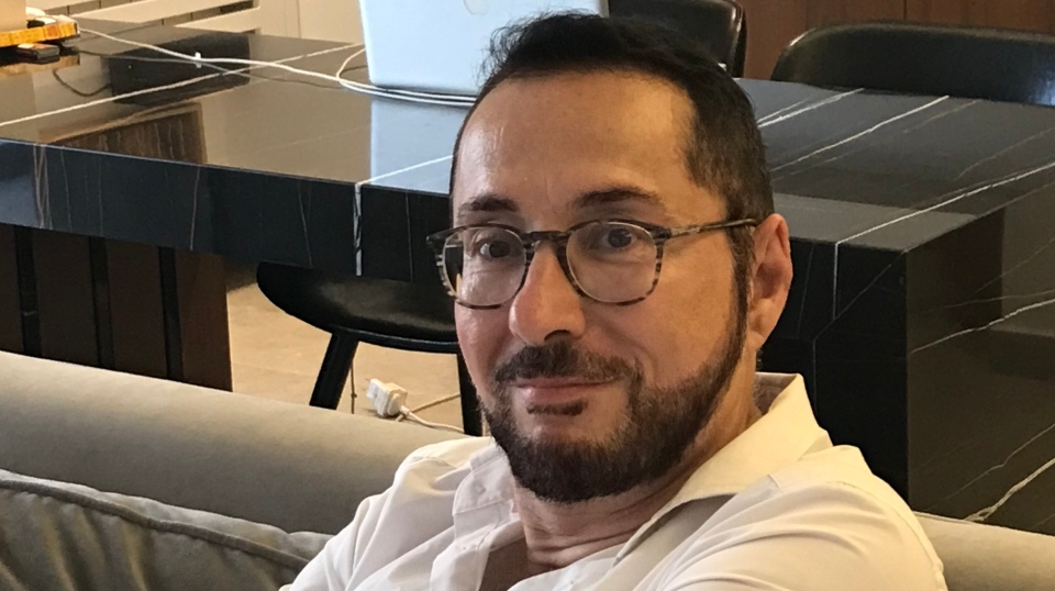 Sami Basbous was at his computer in Beirut