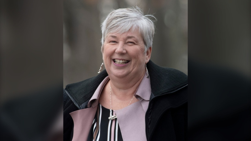 Bernadette Jordan smiles as he makes her way to Rideau Hall to be sworn in as the Fisheries, Oceans and the Canadian Coast Guard Minister during a ceremony in Ottawa, Wednesday November 20, 2019. The federal government has announced details of a $469-million program aimed at helping Canada's fish harvesters deal with the economic fallout from the COVID-19 pandemic. THE CANADIAN PRESS/Adrian Wyld