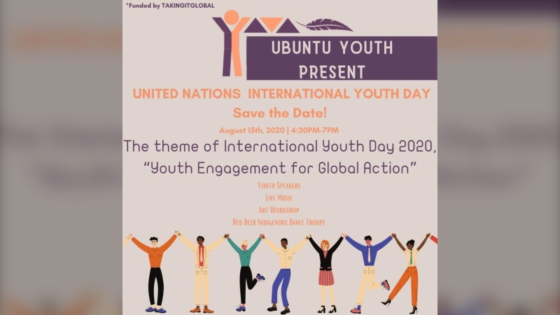 Ubuntu's event celebrating International Youth Day in Red Deer. (souce: Ubuntu)