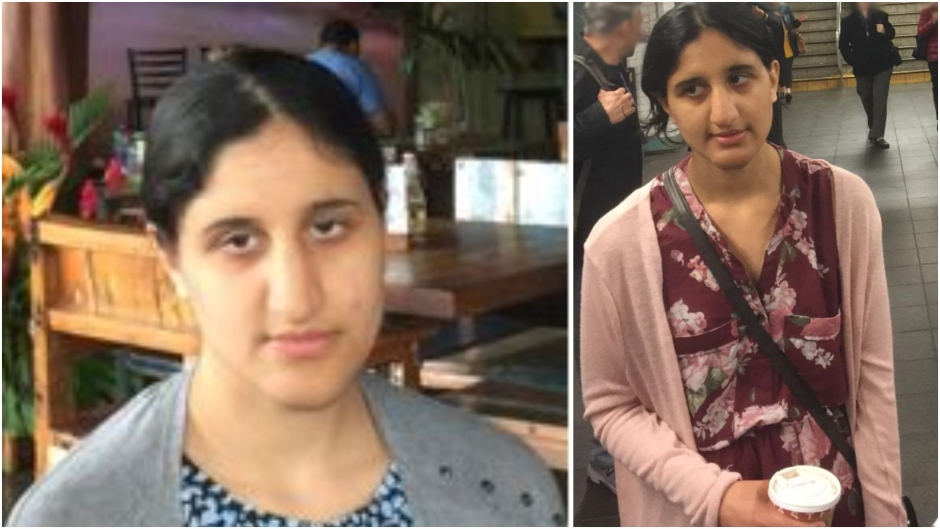 Photos provided by the Surrey RCMP show Hasheena Mundie.