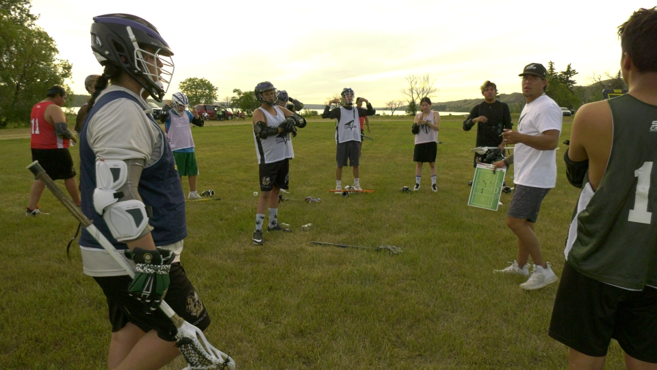 Standing Buffalo Dakota First Nation has introduced an outdoor field lacrosse team.