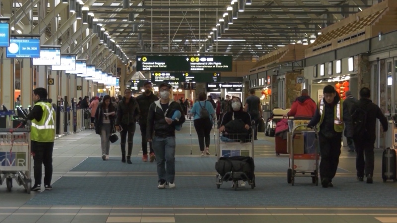 B.C. wants improved airline contact tracing