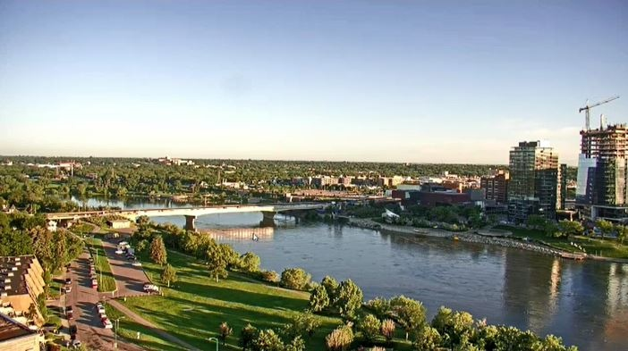 Saskatoon forecast August 6