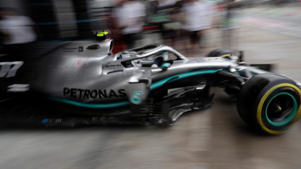 Mercedes' driver Valteri Bottas in Brazil