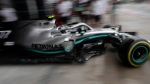 Mercedes' driver Valteri Bottas at the Interlagos race track in Sao Paulo, Brazil, on Nov. 15, 2019. (Silvia Izquierdo / AP)