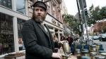 Seth Rogen in a scene from 'An American Pickle.' (Hopper Stone / HBO Max via AP)