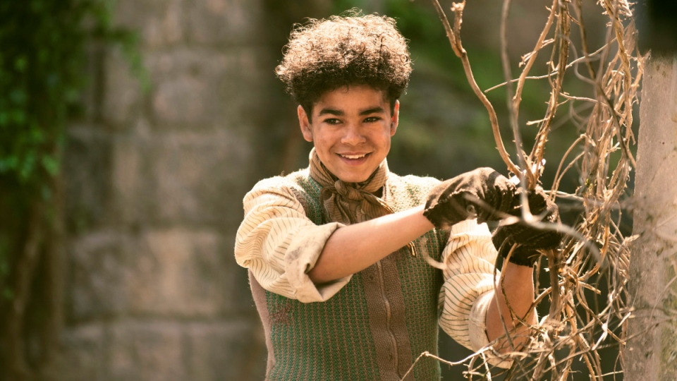 Amir Wilson in 'The Secret Garden'