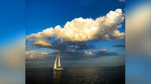 Evening near Gimli Harbour. Photo by Cynthia Boehm.