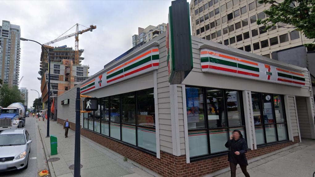 7-Eleven on Davie Street