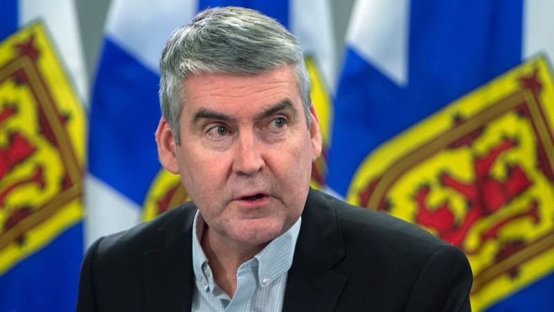 Premier Stephen McNeil attends a briefing in Halifax on Tuesday, March 17, 2020. McNeil has announced he is stepping down as premier and Liberal party leader.THE CANADIAN PRESS/Andrew Vaughan