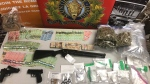 Nova Scotia RCMP have charged two Colchester County, N.S. residents with drug and weapons offences following an eight month investigation. (Photo via N.S. RCMP)