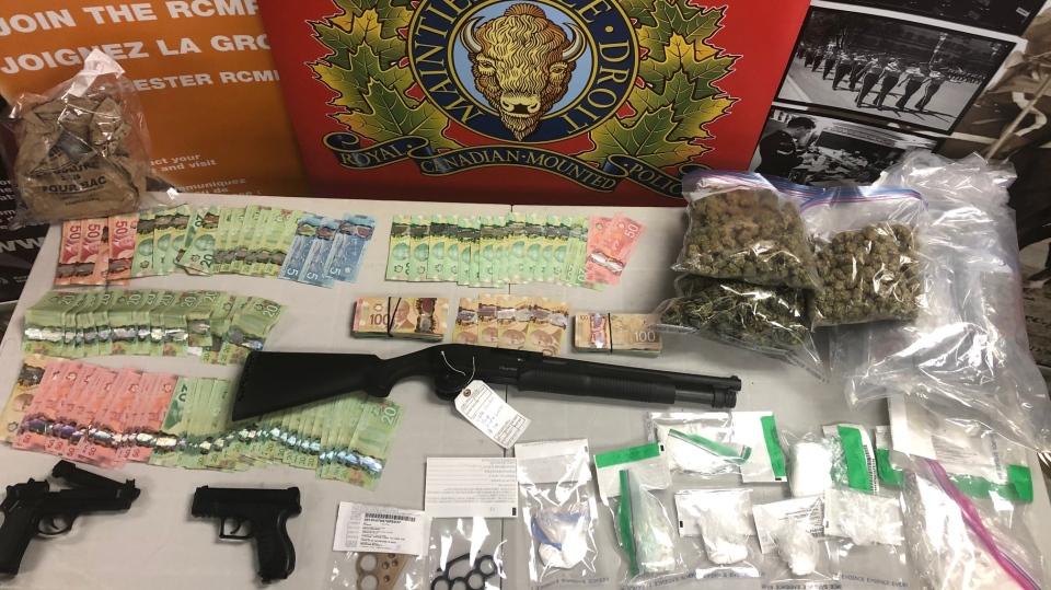 Items seized