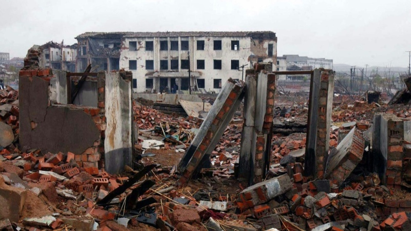 Ammonium nitrate was one of the compounds that ignited in a North Korea train explosion in 2004 that killed 161. (AFP)
