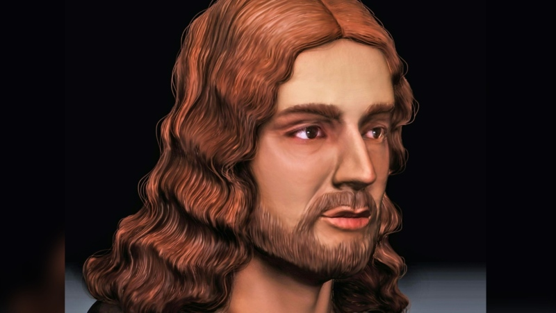 This is how Raphael looked, although he wouldn't have liked the accurate depiction of his nose. (AFP)