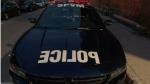 Montreal police car. (Daniel J. Rowe/CTV News Montreal)