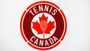 The Tennis Canada logo is pictured in Montreal on Tuesday, September 10, 2019. THE CANADIAN PRESS/Paul Chiasson