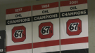 "The Ottawa 67's will launch a ""deposit campaign"" next week to allow fans to reserve tickets for the new season. (Shaun Vardon/CTV News Ottawa"