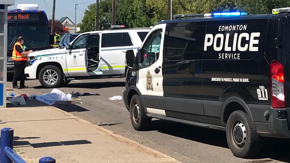 Stabbing, Stony Plain Road, Aug. 6, 2020