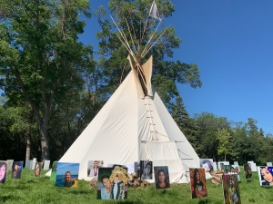 walking with our angels tipi