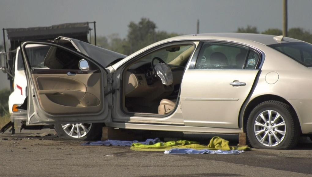 Austin crash
