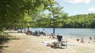 Popular beach becoming overcrowded