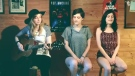 The girls from Sudbury band Pop Machine cover 'More Than Words' by Extreme.