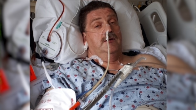 Chilliwack, B.C. resident Doug Henderson was paralyzed in a mountain biking accident back in June, and remains hospitalized in early August.