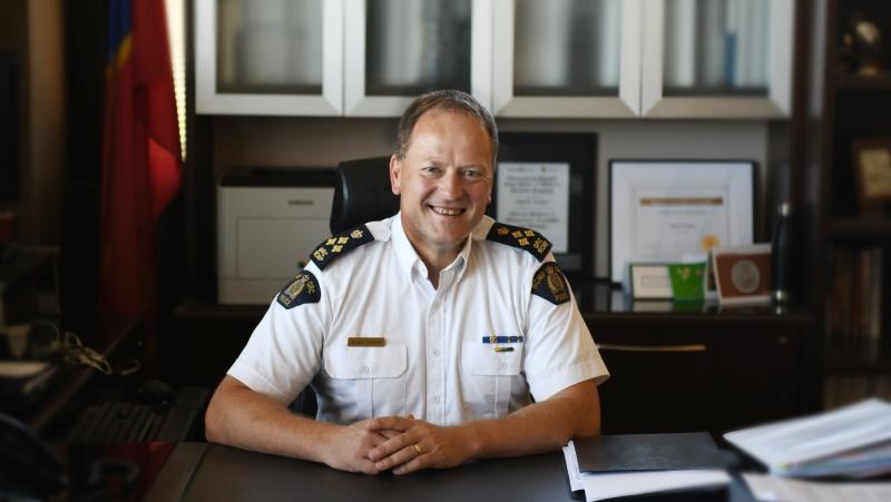 Mark Fisher, the Assistant Commissioner of the Saskatchewan RCMP: (Courtesy: Saskatchewan RCMP)