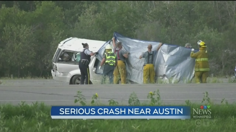 Serious Highway 1 collision near Austin
