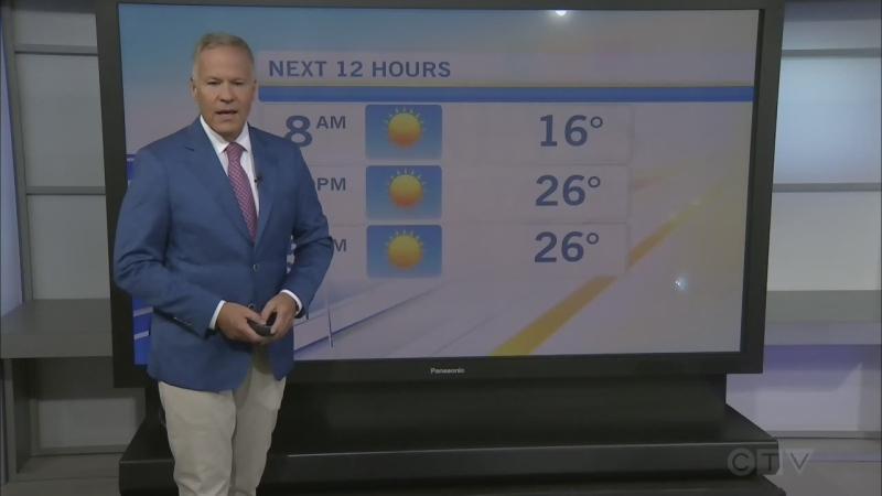 CTV Morning Live Weather Aug 07