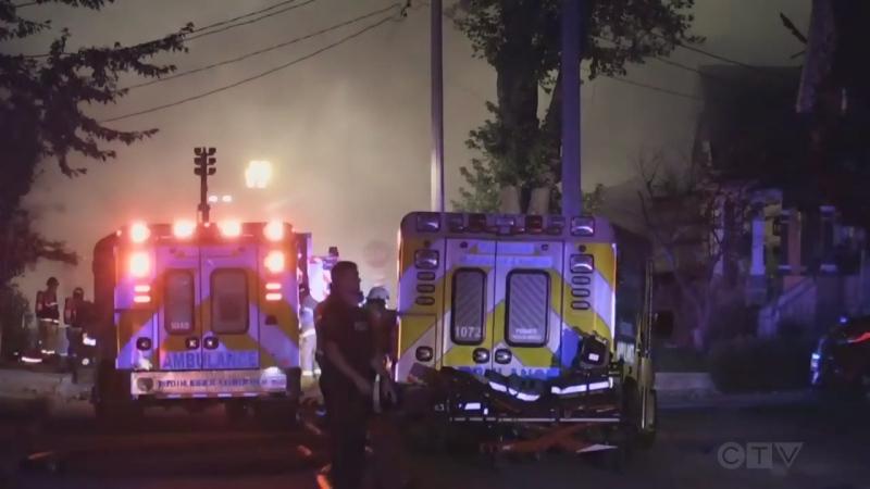 Woodman Avenue Explosion