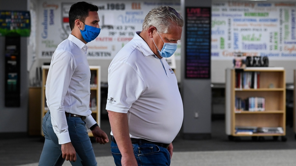 Ontario reports 170 new coronavirus cases, 1 death; total at 43,855