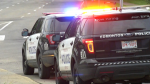 EPS vehicles at scene of random stabbing