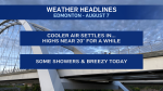 August 7 weather headlines