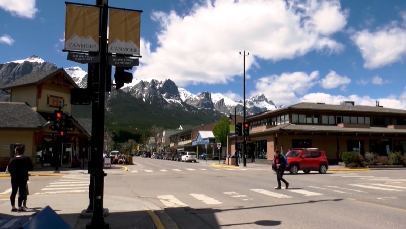 According to the province's data, there have been 35 cases of COVID-19 in the Canmore region. The town is now making masks mandatory in public spaces.