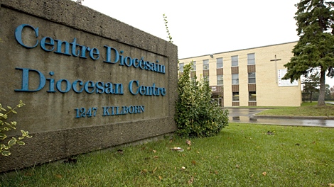 The Diocesan Centre on Kilborn Pl., in Ottawa, Ont., on Friday Oct. 9, 2009. (Sean Kilpatrick / THE CANADIAN PRESS)