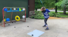 For this week's Fitness Friday, we talk about at-home hockey practice drills