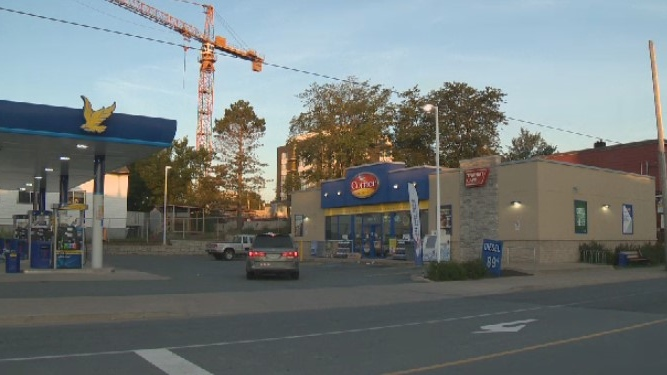 Halifax Regional Police responded to an armed robbery at this gas station the morning of Aug. 7, 2020.