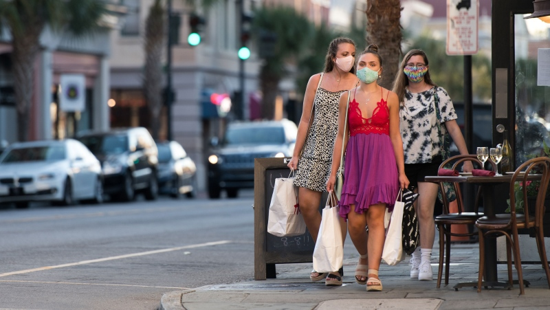 Etsy said it sold 29 million reusable face masks in its second quarter. (Sean Rayford/Getty Images)