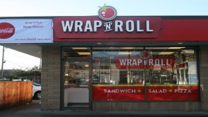 Wrap N Roll will be selling falafel wraps by donation on Saturday to support humanitarian efforts in Beirut: (Wrap N Roll / Facebook)