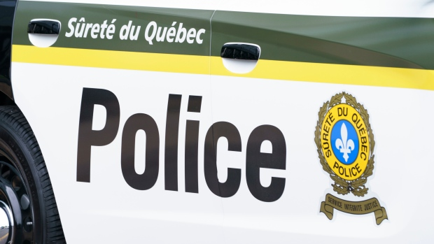 A woman and her children, including one in a stroller, were hit by a car on a Quebec road