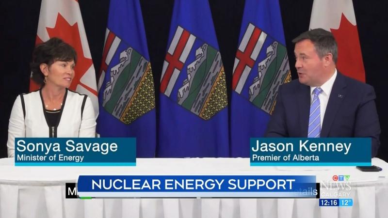 Alberta helps develop nuclear power