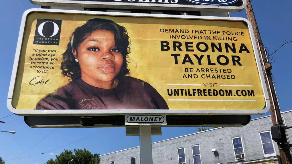 Winfrey Demanding Justice For Breonna Taylor With Billboards Ctv News