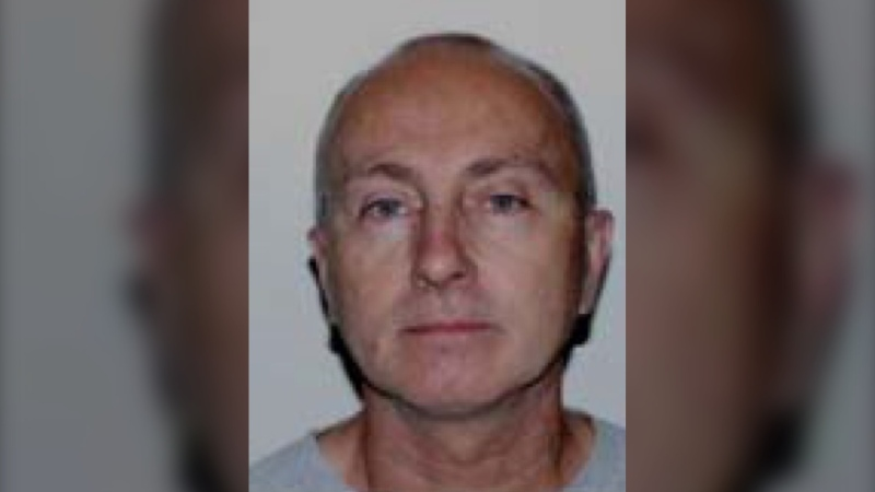 Police have arrested Claude Charbonneau in Trois Rivieres in connection with two killings in Montreal. photo: Montreal police