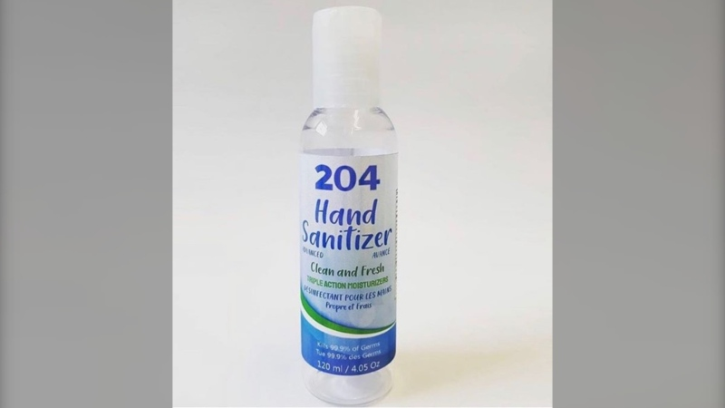 Health Canada announced on Friday that it is recalling the hand sanitizers from 204 Spirits Inc., a Manitoba-based vodka distillery. (Source: 204Vodka Instagram)