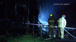 An extended family of eight has been displaced by fire near Windsor, N.S.