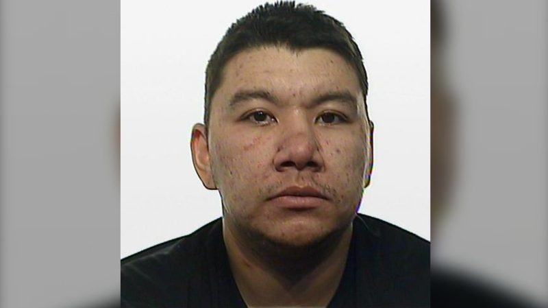 Josiah Pamburn, 28, is pictured in this photo provided by the Regina Police Service. He is charged with manslaughter in the murder of Rodney Troy Ruberry.