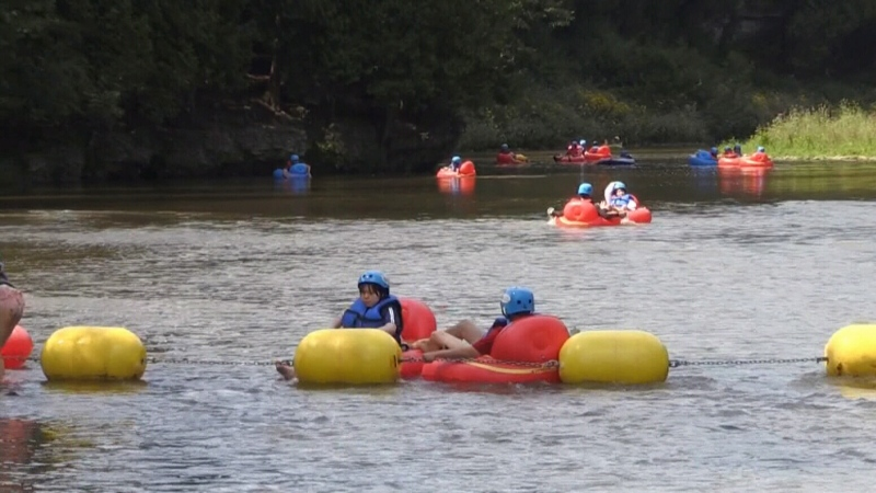 No tubing at Elora Gorge this weekend