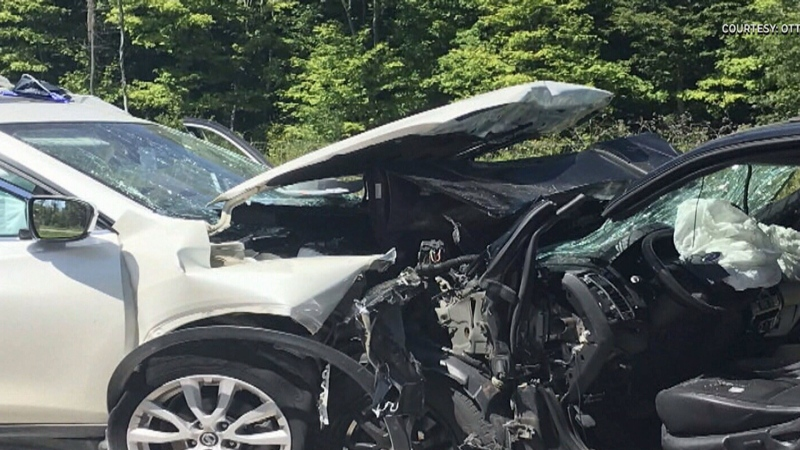 Serious crash in Kanata