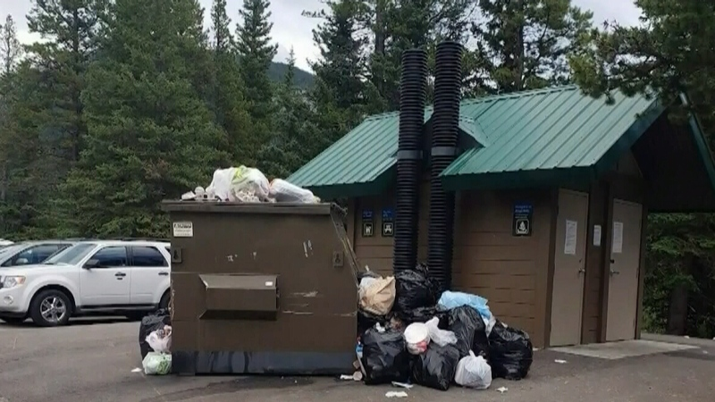 Outdoor living is a lot of garbage